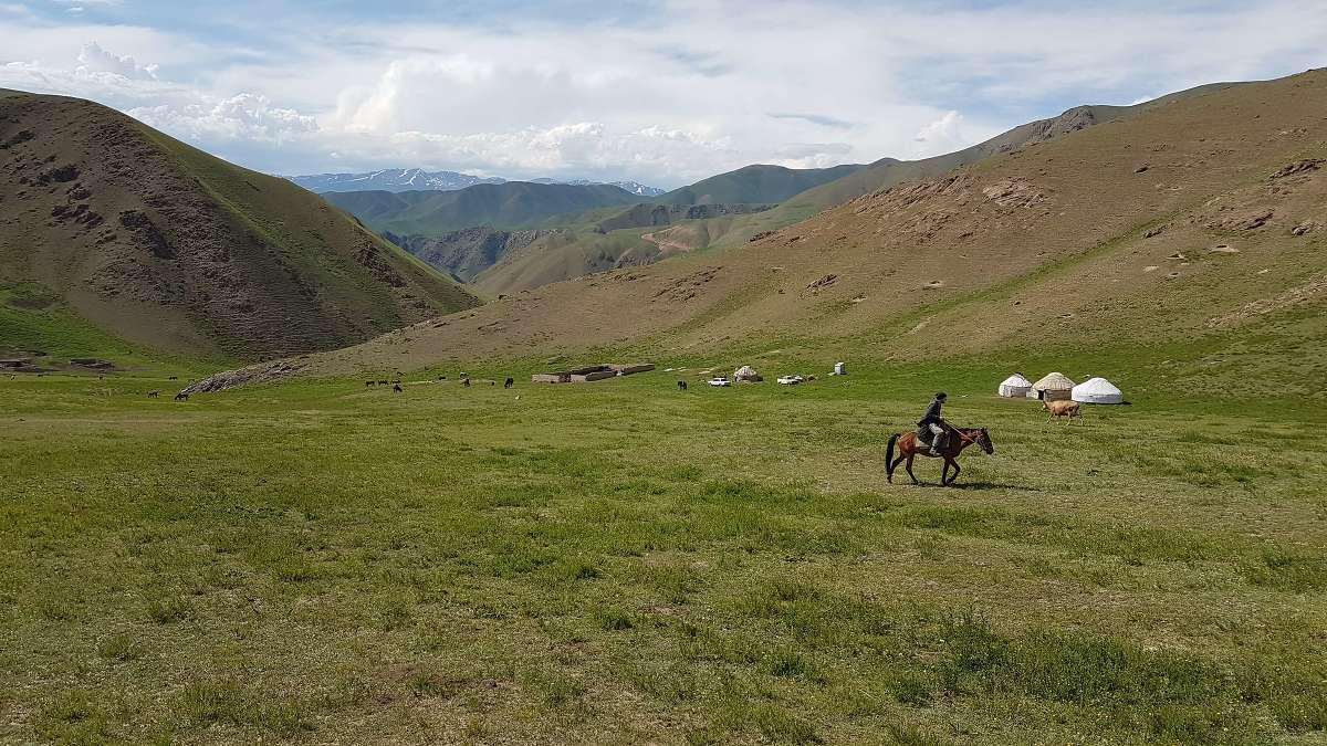 Backpacking durch Kirgistan: Vorschlag für eine 2- oder 3-wöchige Reiseroute
